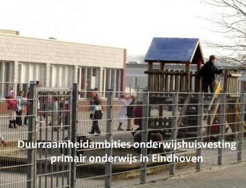 Visie en ambities duurzaamheid scholen gemeente Eindhoven (PO)