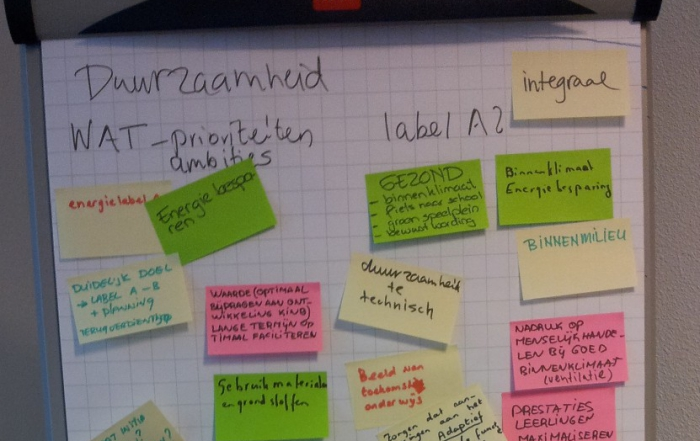 Workshop duurzame onderwijshuisvesting