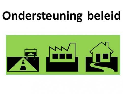 Ondersteuning beleid gebouwde omgeving